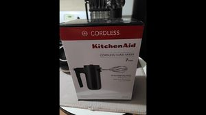 New KitchenAid Variable-Speed Cordless Hand Mixer - Black for Sale in Coachella, CA