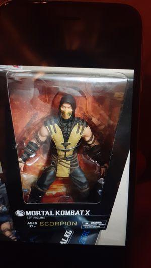 "Mortal Kombat X(Scorpion) 12""Deluxe supersize action figure for Sale in Pasadena, TX"