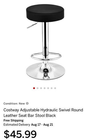New ! Swivel black and metal stool for Sale in Rancho Cucamonga, CA