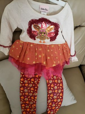 Thanksgiving Outfit 2T for Sale in Pasadena, TX