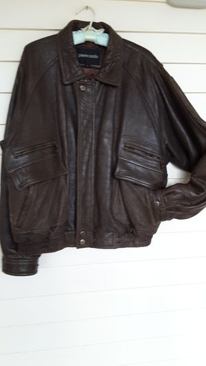 Men's leather jacket for Sale in Stafford Township, NJ