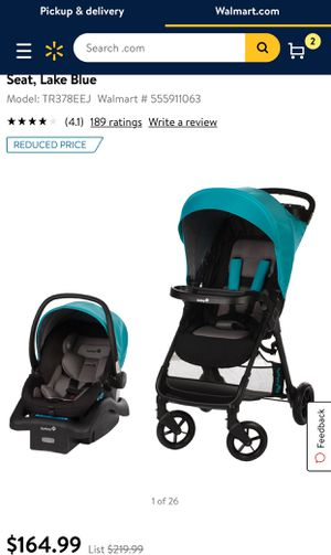 Safety 1st stroller & car seat for Sale in Las Vegas, NV