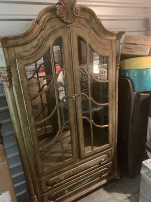 Decorative China Hutch for Sale in Lake Park, NC