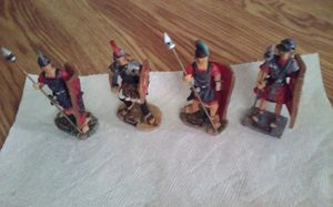4 Antica Roma Figurines hand maid for Sale in Pawtucket, RI
