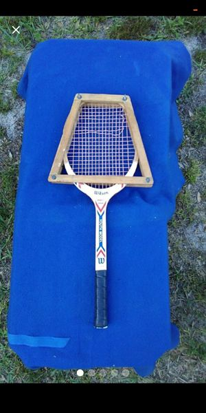 Vintage Wilson wood tennis Racket for Sale in Tampa, FL