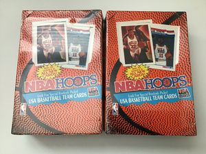 1991-1992 NBAHOOPS 2 factory sealed boxes. for Sale in Visalia, CA