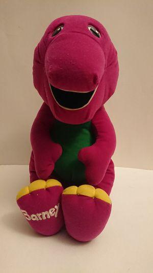 """Vintage 1992 14"""" Talking Barney from Playskool for Sale in Rosemead, CA"""