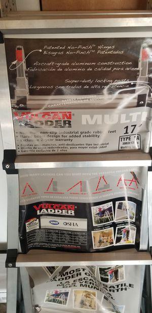 New Vulcan 17 foot multi folding ladder for Sale in Westland, MI