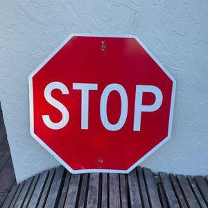 Genuine STOP street sign for Sale in Boca Raton, FL
