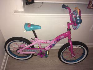 """16"""" LOL Surprise Kids Bike w/Training Wheels for Sale in Washington, DC"""