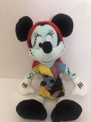 """Disney Nightmare Before Christmas Sally """" Minnie Mouse"""" Plush Japan for Sale in Oceanside, CA"""