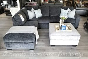 $779 FREE DELIVERY! BRAND NEW GREY SECTIONAL SOFA for Sale in Oviedo, FL