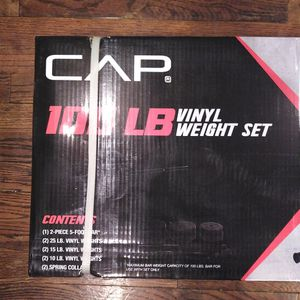 Weight Set 100 Pounds Total for Sale in Detroit, MI