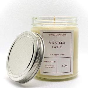Vanilla Latte Candle / Coffee / Fresh Coffee / Soy Candle 8oz for Sale in Raleigh, NC