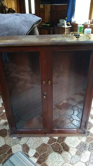 Antique display case for Sale in Seekonk, MA
