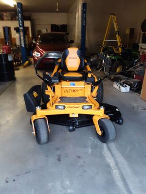 "60"" cub cadet ZT2 zeroturn lawn mower with Kawasaki engine for Sale in Elgin, IL"