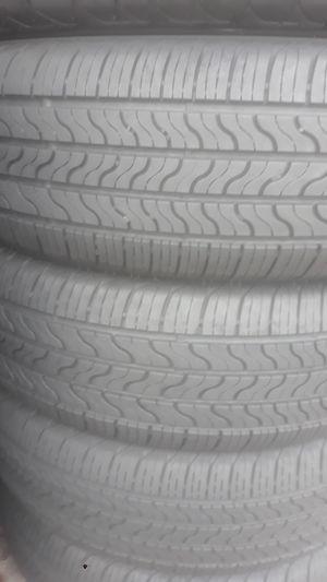 Set of tires installed Firestone 215 65 17 for Sale in Atlanta, GA