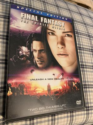 Final Fantasy : The Spirits Within Double 2-DVD Box Set Special Edition for Sale in Bellevue, WA