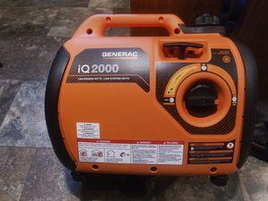 Generac iQ 2000 generator\ inverter for Sale in Oak Harbor, WA