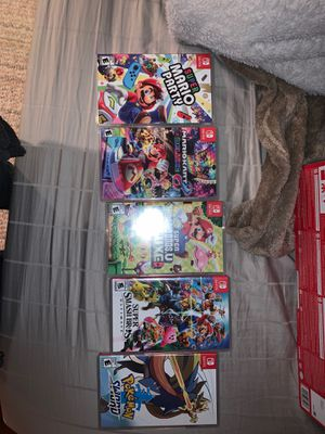 Nintendo switch games for Sale in Parma, OH