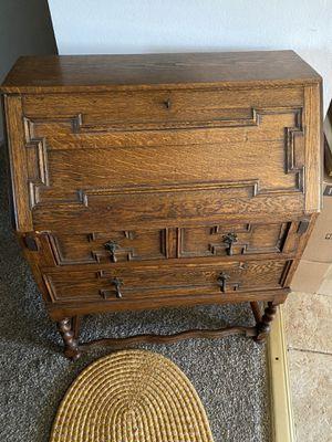Antique Secretary Desk for Sale in Rancho Cucamonga, CA
