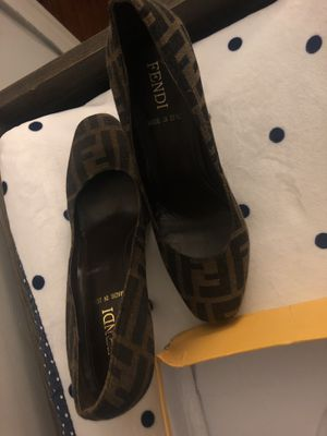 Fendi Zucca Style Womens Shoes for Sale in Washington, DC