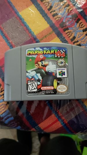 Mario Kart 64 (US Reproduction) N64 for Sale in Sioux Falls, SD