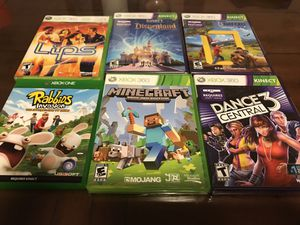 XBOX 360 Video Games (3 new and 3 used) for Sale in Seattle, WA