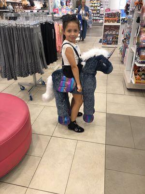 justice rideable unicorn costume for Sale in Mullica Hill, NJ