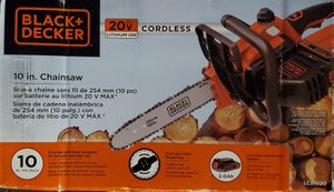 Black + Decker Cordless Chainsaw for Sale in Portland, OR