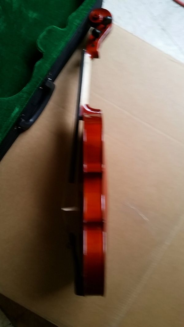 Brand New maple violin with case,bow and Rosin