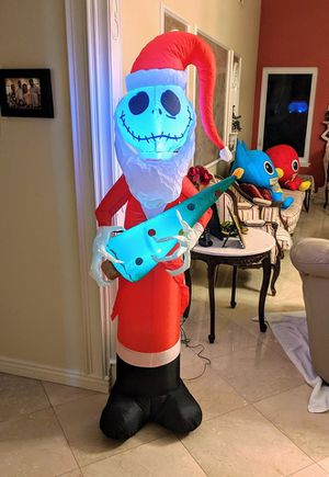 Disney nightmare before Christmas Halloween inflatable for Sale in Santa Clarita, CA