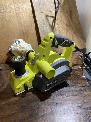 Ryobi corded electric 3 1/4 inch planer for Sale in San Bernardino, CA