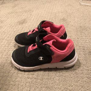 Champion Girls Sneakers, Size 12.5, Black for Sale in Seattle, WA