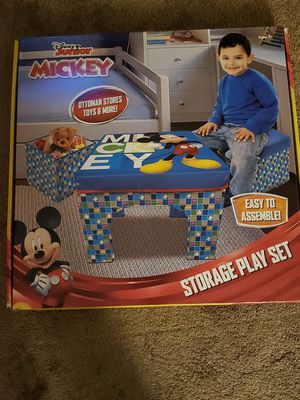 Mickey mouse club house storage play set for Sale in Toledo, OH