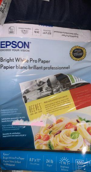 BRAND NEW PRINTER PAPER for Sale in Lombard, IL