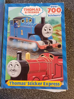 Thomas the Train scrapbook and sticker book for Sale in Imperial, MO