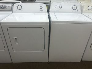 Amana Washer and dryer Electric set for Sale in Phoenix, AZ