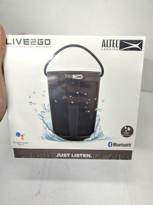 Altec Lansing LIVE 2 GO Speaker Bluetooth portable with Google home for Sale in Los Angeles, CA