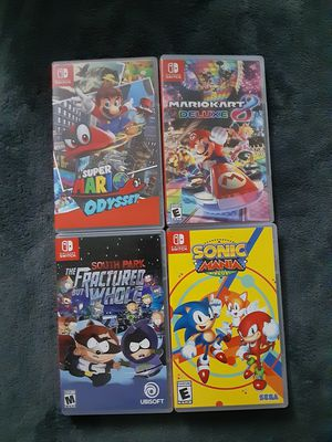 NINTENDO SWITCH GAMES for Sale in Lakeland, FL