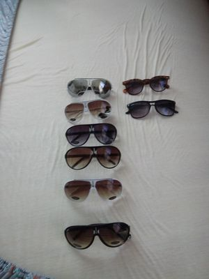 8 pair of Sun glasses brand new they go for 12.99 a piece but selling for less for Sale in Frostproof, FL