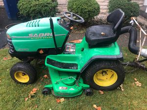 Sabre by John Deere with Trac-vac model 580 for Sale in Indianapolis, IN