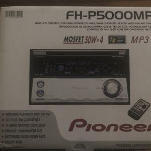 Pioneer Car Receiver Cd and Cassette Player for Sale in Ashburn, VA