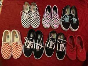 VANS SHOES SIZE 7 & 9 for Sale in Mechanicsville, VA