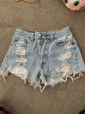 Levi's 501 high waisted shorts for Sale in Los Angeles, CA