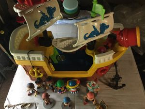 PIRATE SHIP by Fisher Price for Sale in East Windsor, NJ