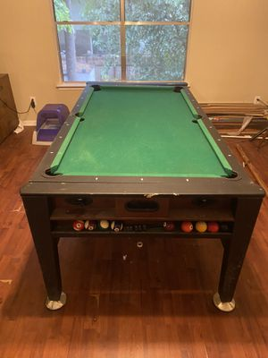 3 in 1 pool table air hockey and ping pong for Sale in Humble, TX