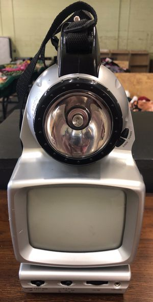 Campers Outdoor Multi Function TV -Radio-Lights -$25.00 for Sale in Omaha, NE