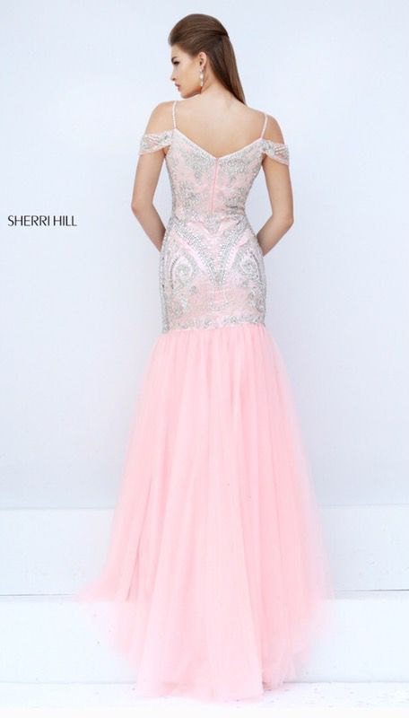 Prom Formal Gown Sherri Hill 2015 Style 26140 C pink for Sale in  Fayetteville, NC - OfferUp