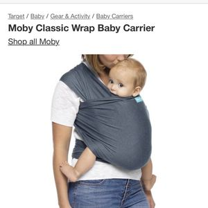 Moby Classic Wrap Baby Carrier for Sale in Sunnyvale, CA
